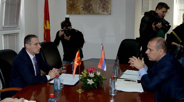 Macedonian and Serbian Ministers of Health, Mr. Todorov and Mr. Lonchar